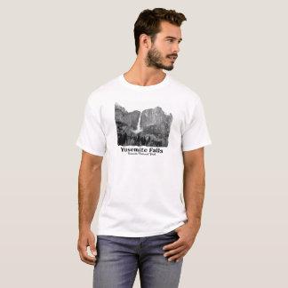 Yosemite Falls in B&W, Yosemite National Park T-Shirt