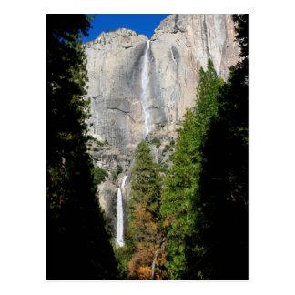 Yosemite Falls in November Postcard