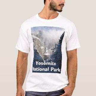 yosemite falls in winter T-Shirt