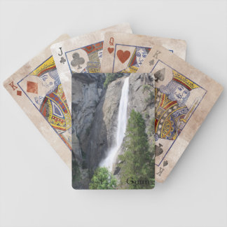 Yosemite Falls Playing Cards