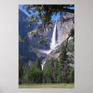 Yosemite Falls Poster