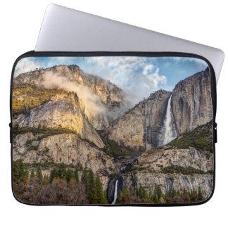 Yosemite Falls scenic, California Laptop Sleeve