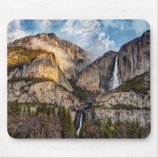 Yosemite Falls scenic, California Mouse Pad