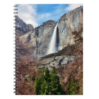 Yosemite Falls Spiral Note Book