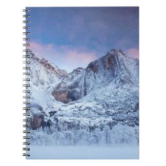 Yosemite Falls Sunrise Notebook