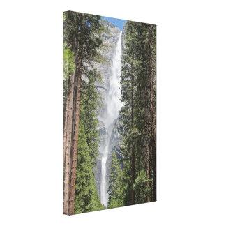 Yosemite Falls Wrapped Canvas Print