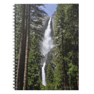 Yosemite Falls, Yosemite National Park Spiral Note Book