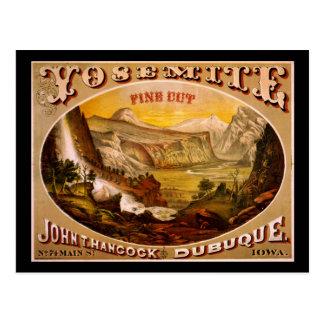 Yosemite fine cut tobacco postcard
