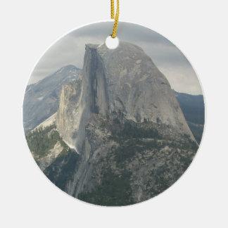 Yosemite Half Dome Ceramic Ornament