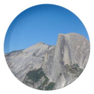 Yosemite Half Dome Dinner Plate