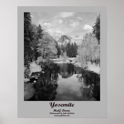 Yosemite Half Dome Print