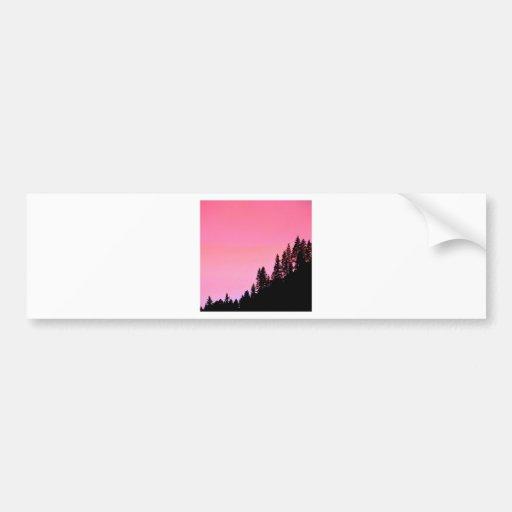Yosemite Hillside Pines Park Bumper Sticker