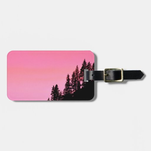 Yosemite Hillside Pines Park Luggage Tag