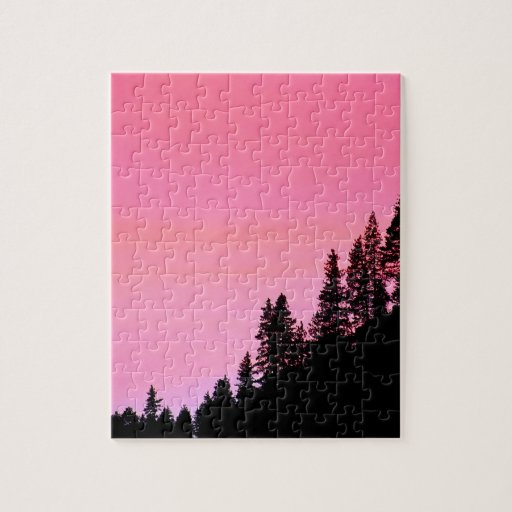 Yosemite Hillside Pines Park Jigsaw Puzzles