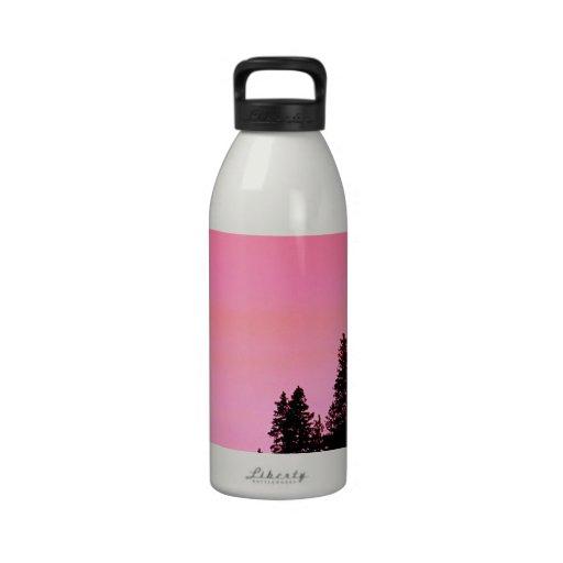 Yosemite Hillside Pines Park Water Bottle