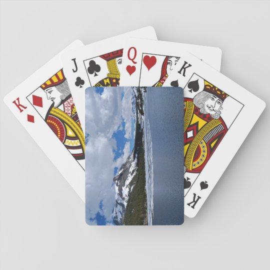 Yosemite Ice Lake Playing Cards