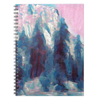 Yosemite in Pink Notebooks