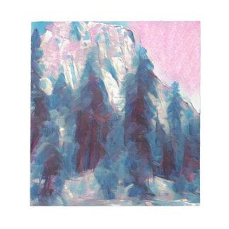 Yosemite in Pink Notepad
