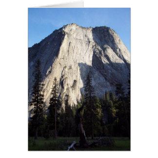 Yosemite in Spring:  Granite Majesty Card
