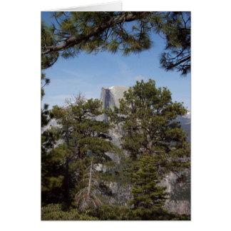 Yosemite in Springtime:  Half Dome Card