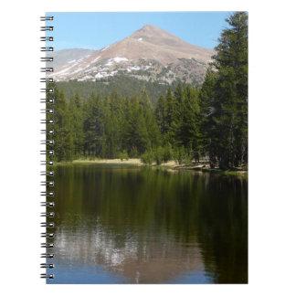 Yosemite Lake Reflection Notebook