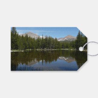 Yosemite Lake Reflection Pack Of Gift Tags