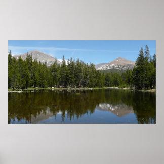 Yosemite Lake Reflection Poster