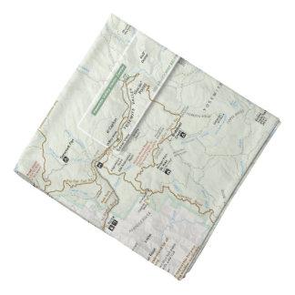 Yosemite map bandana