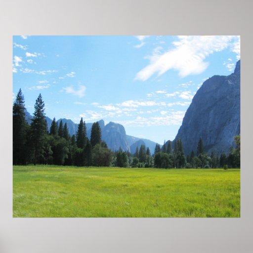 Yosemite Meadow Print