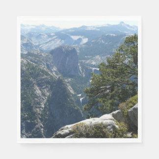 Yosemite Mountain View in Yosemite National Park Disposable Napkins