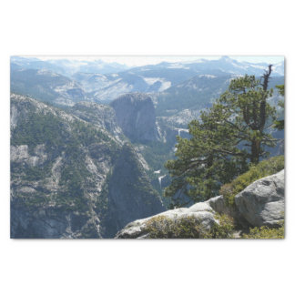 Yosemite Mountain View in Yosemite National Park Tissue Paper