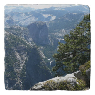Yosemite Mountain View in Yosemite National Park Trivet