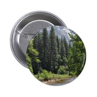 Yosemite National Park 2 Inch Round Button