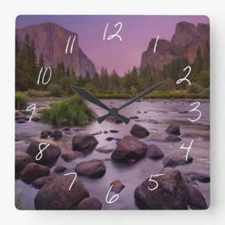 Yosemite National Park at Dusk Wallclocks