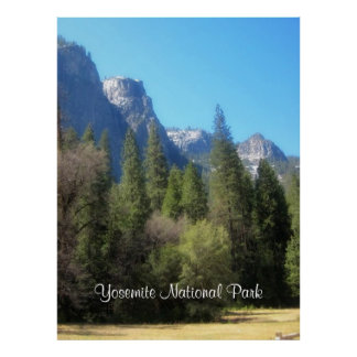 Yosemite National Park C Poster