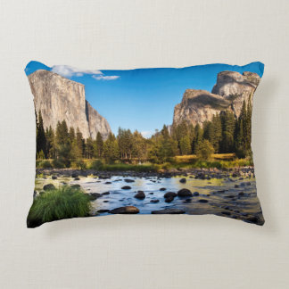 Yosemite National Park, California Accent Pillow