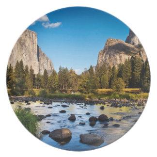 Yosemite National Park, California Dinner Plates