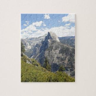 Yosemite National Park California Half Dome Valley Jigsaw Puzzle