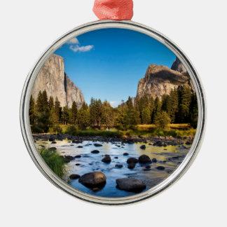 Yosemite National Park, California Metal Ornament
