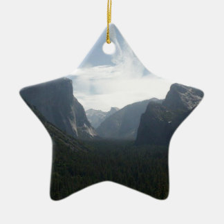 Yosemite National Park Ceramic Ornament