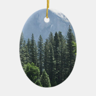 Yosemite National Park Ceramic Oval Ornament