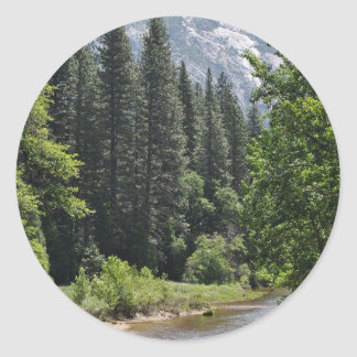 Yosemite National Park Classic Round Sticker