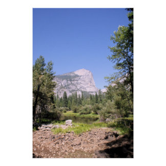 Yosemite National Park color photo poster print