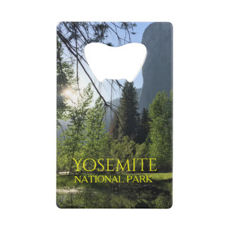 Yosemite National Park Credit Card Bottle Opener