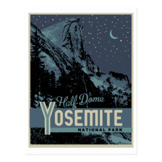 Yosemite National Park Half Dome Postcard