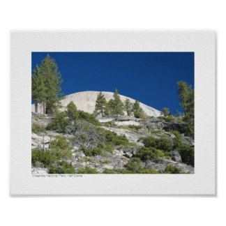 Yosemite National Park - Half Dome Poster