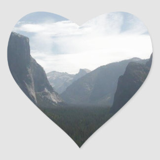 Yosemite National Park Heart Sticker
