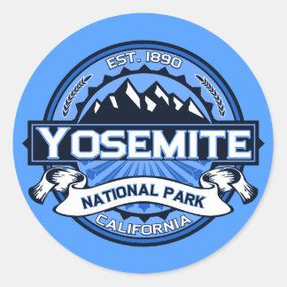 Yosemite National Park Logo Classic Round Sticker