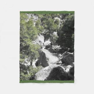 Yosemite National Park Nature Fleece Blanket