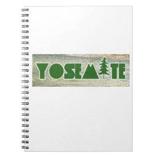 Yosemite National Park Notebooks